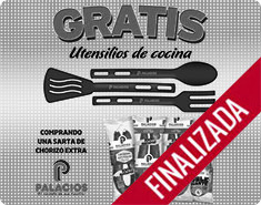 Gratis un práctico utensilio de cocina por la compra de una sarta de Chorizo Extra