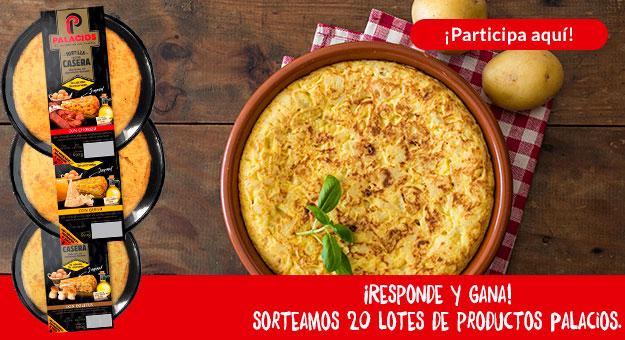 Responde la pregunta sobre nuestras nuevas tortillas y gana uno de los 20 lotes de tortillas caseras al plato