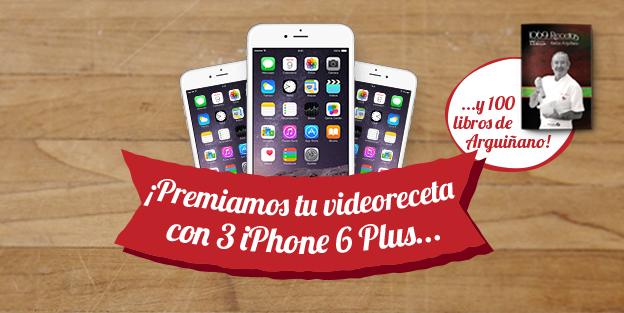Graba una vídeoreceta con chorizo Palacios y llévate un iPhone 6 Plus