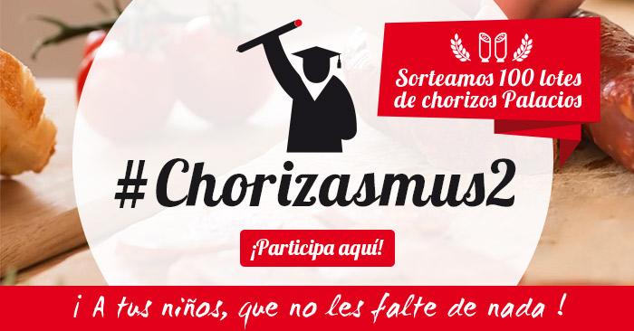Participa en #Chorizasmus2 y llévate un lote de chorizos Palacios