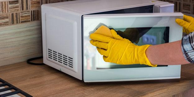 Cómo limpiar el microondas sin productos tóxicos