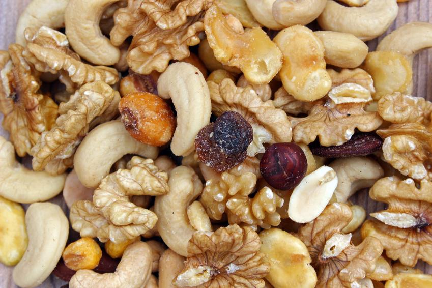 Frutos secos oleaginosos y frutas desecadas
