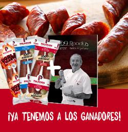 ¡Ya tenemos a los ganadores de los libros de Karlos Arguiñano y de los lotes Palacios!