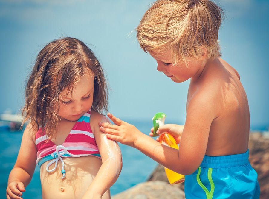 Cómo proteger a los niños del sol
