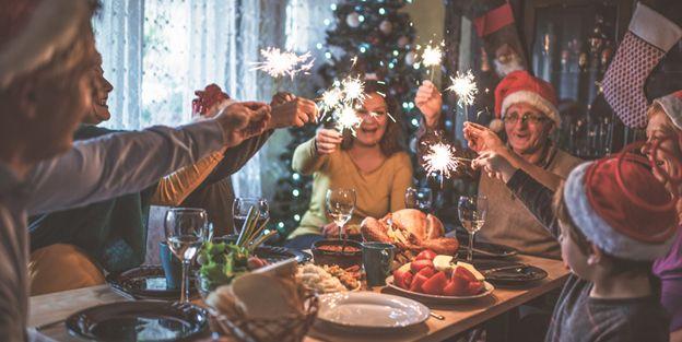 Trucos para no coger peso en navidad