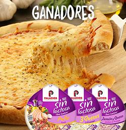 Ganadores Pizzas sin lactosa