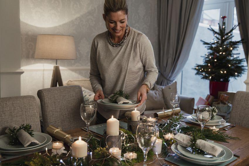 Consejos para decorar la mesa de Navidad