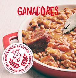 Ganadores del concurso Chorizo Palacios especial cocina