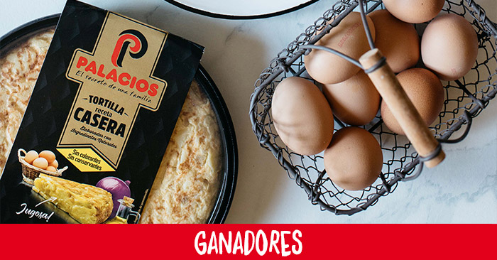 Ganadores de los 25 lotes de Tortillas Caseras al plato de Palacios
