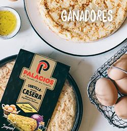 ¡Ganadores de los 25 lotes de Tortillas caseras al plato Palacios!