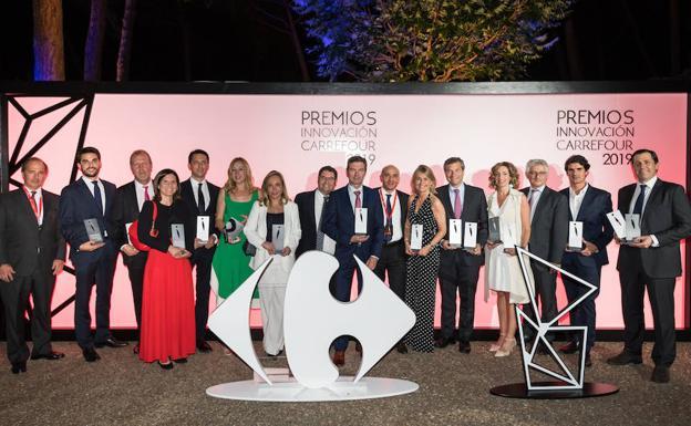 Palacios ganador del premio Innovación Carrefour 2019