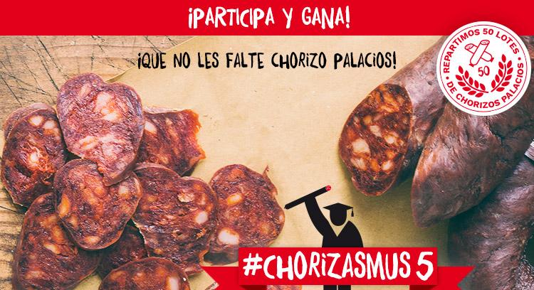 ¡Que a nuestros Erasmus no les falte el chorizo Palacios! #Chorizasmus5