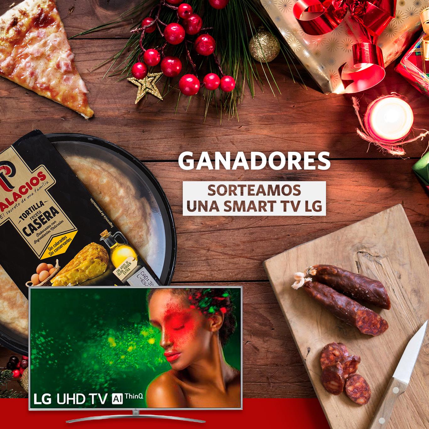 Ganadora de la televisión Smart TV LG!