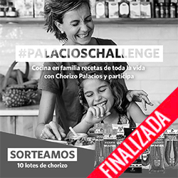 Participa en nuestro reto de instagram y gana uno de los 10 lotes de chorizo que sorteamos (finalizado)