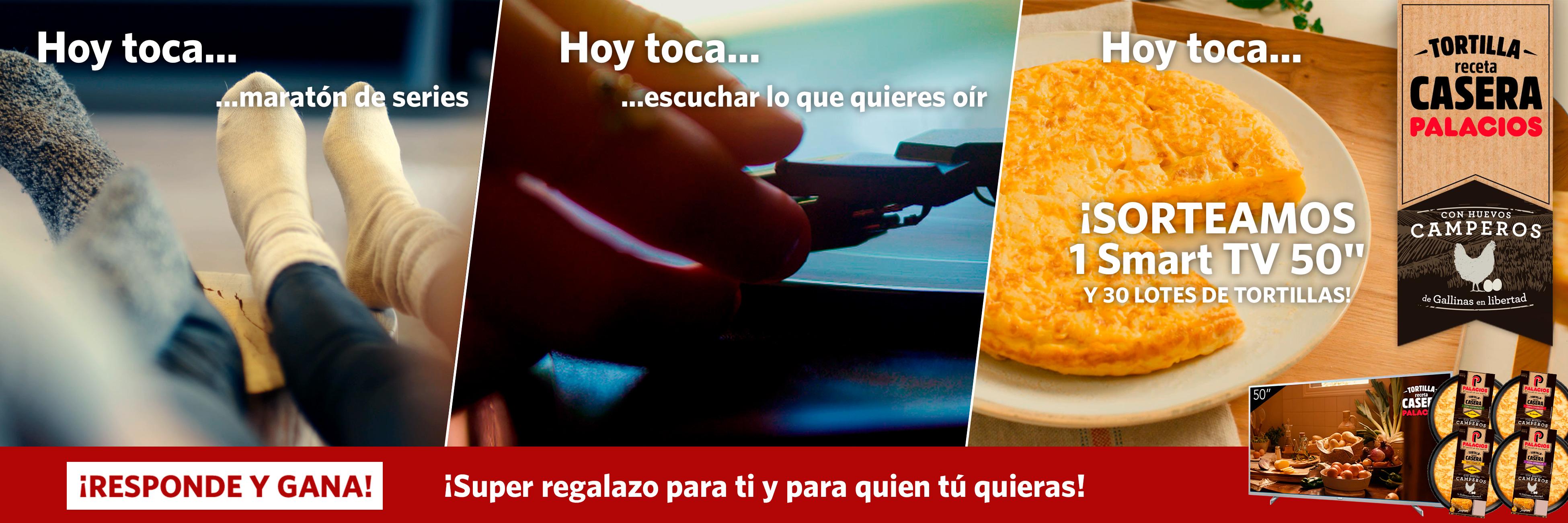 Hoy toca… Tortilla Palacios Receta Casera con Huevos Camperos