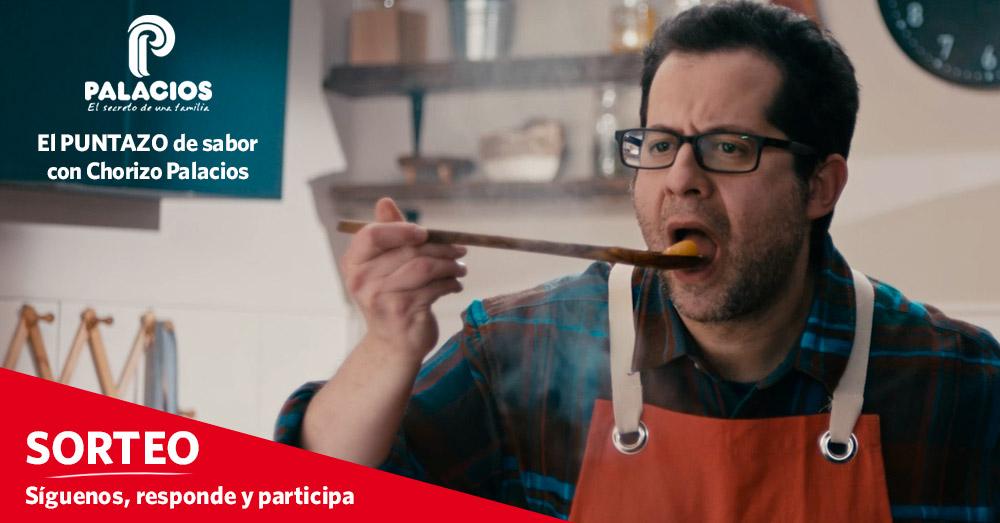 Sorteo: El puntazo de sabor con Chorizos Palacios
