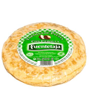 Tortilla de patata pasteurizada con cebolla