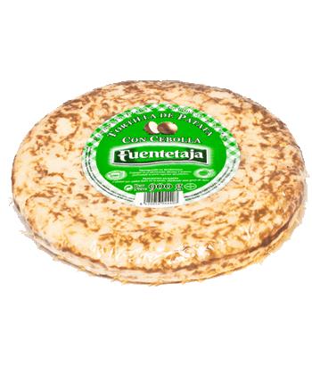 Tortilla pasteurizada con cebolla 900 gr