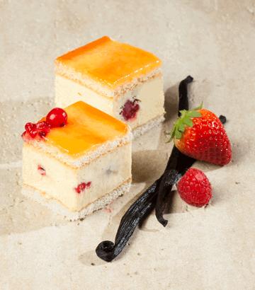 Tarta Vainilla Y Frutos Rojos