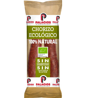 Chorizo ecológico Palacios