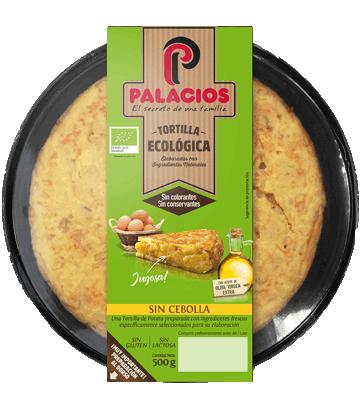 Tortilla ecológica Palacios sin cebolla