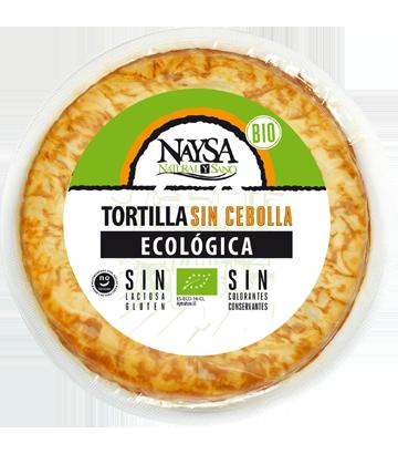 Tortilla ecológica sin cebolla Naysa