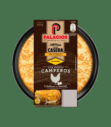 Tortilla casera Palacios sin cebolla 300gr