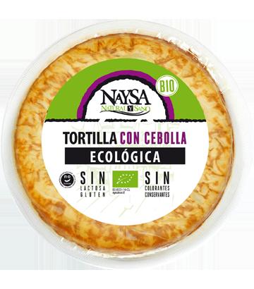 Tortilla ecológica con cebolla Naysa