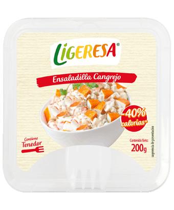 Ensalada de cangrejo Ligeresa