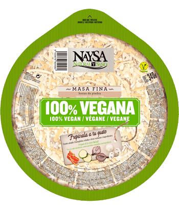 Pizza vegana Naysa
