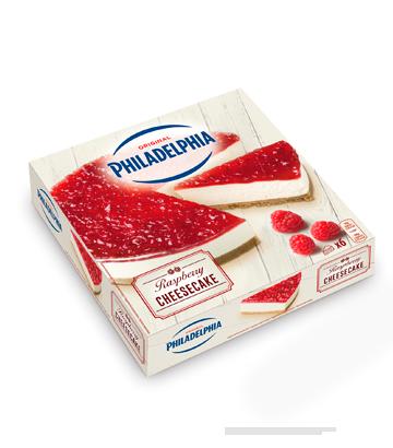 Cheesecake Philadelphia Frambuesa