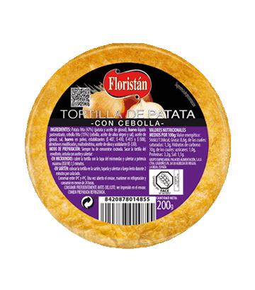 Tortilla de patata con cebolla mini