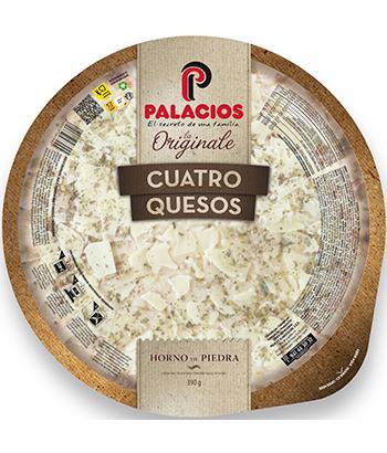 Pizza Originale cuatro Quesos