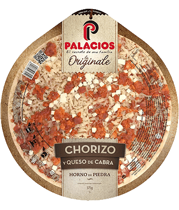 Pizza Originale Chorizo y Queso de cabra