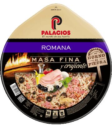 Pizza Masa Fina Romana