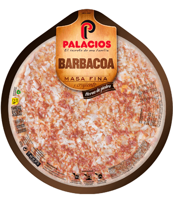 Pizza Masa Fina Barbacoa