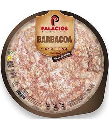 Pizza Masa Fina Barbacoa