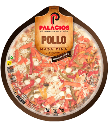 Pizza Masa Fina Pollo