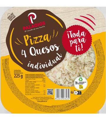 Pizza Mini Micro tres Quesos