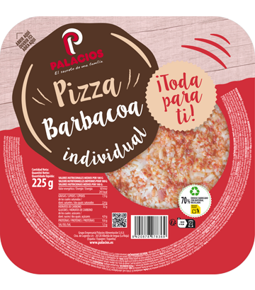 Pizza Mini Micro Barbacoa