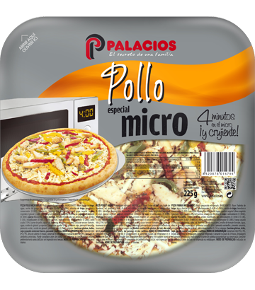 Pizza Mini Micro Pollo